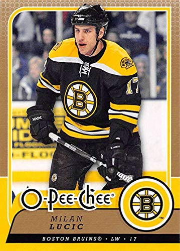 2008-09 O-Pee-Chee Hockey #354 Milan Lucic Boston Bruins Official NHL Trading Card From Upper Deck ()
