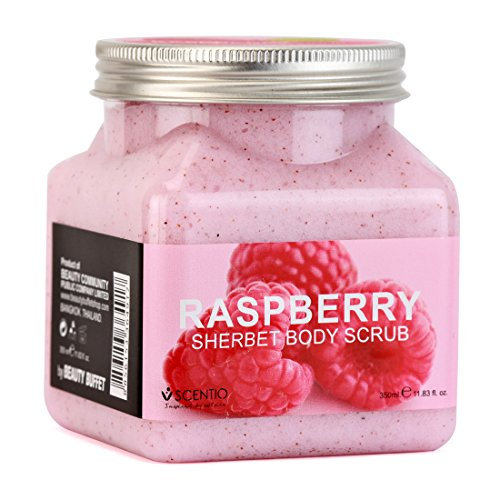 Scentio Raspberry Pore Minimizing Sherbet Body Scrub ( Pack of 11.83 Oz )