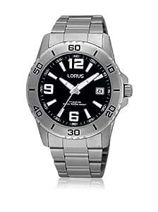 Lorus RXH21JX9 - Reloj analógico de cuarzo para hombre, correa de titanio color metalizado