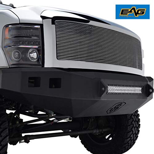 EAG Chrome Billet Grille+Shell for 08-10 Ford F250/F350 ()