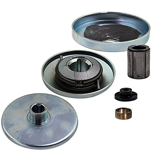 30 Series Go Kart Torque Converter Small Driver Pulley Clutch, 3/4 inch Bore, 3/16 inch Keyway, Replaces Comet TAV2 30-75, Replaces Predator, Comet 219552, Manco 5957, Yerf Dog Q43201W, Max Torque, by Bullet Lines