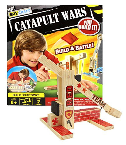 Review Boy Craft Catapult Wars