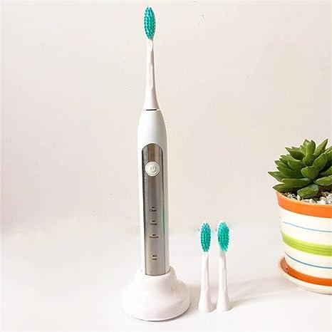 Nuevo Sonic Electric Toothbrush Wireless Charging impermeable elšŠctrico cepillo de dientes de carga inductiva para adultos, blanco: Amazon.es: Salud y ...