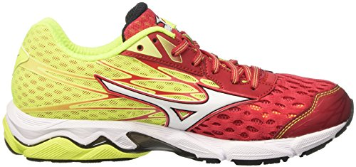 Mizuno Wave Catalyst - Zapatillas de running Hombre Multicolore (Lollipop/White/SafetyYellow)