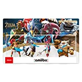 The Legend of Zelda: Breath of the Wild - Champion's Amiibo 4-Pack (Urbosa/Revali/Mipha/Daruk) - Nintendo Wii U + 3DS + Switch