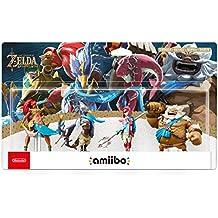 The Legend of Zelda: Breath of the Wild - Champion's Amiibo 4-Pack (Urbosa/Revali/Mipha/Daruk) - Nintendo Wii U + 3DS + Switch
