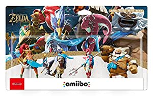 Nintendo - Pack De 4 Figurinas Amiibo Daruk, Mipha, Revali, Urbosa