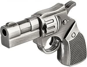 Shooo 16GB Metal revólver del arma Novedad memoria USB: Amazon.es ...
