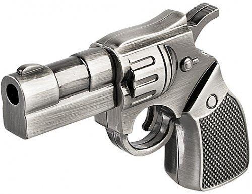 WooTeck 16GB Metal Revolver Gun Novelty USB Flash Drive
