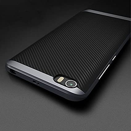 size 40 fb433 c74ad For Mi 5 Back Cover Case Taslar Hybrid Series Two Piece: Amazon.in ...