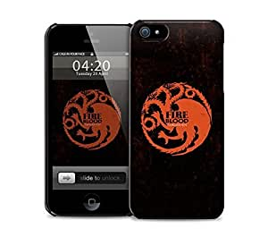 Game Of Thrones Targaryen Logo Case For HTC One M8 Cover protective case