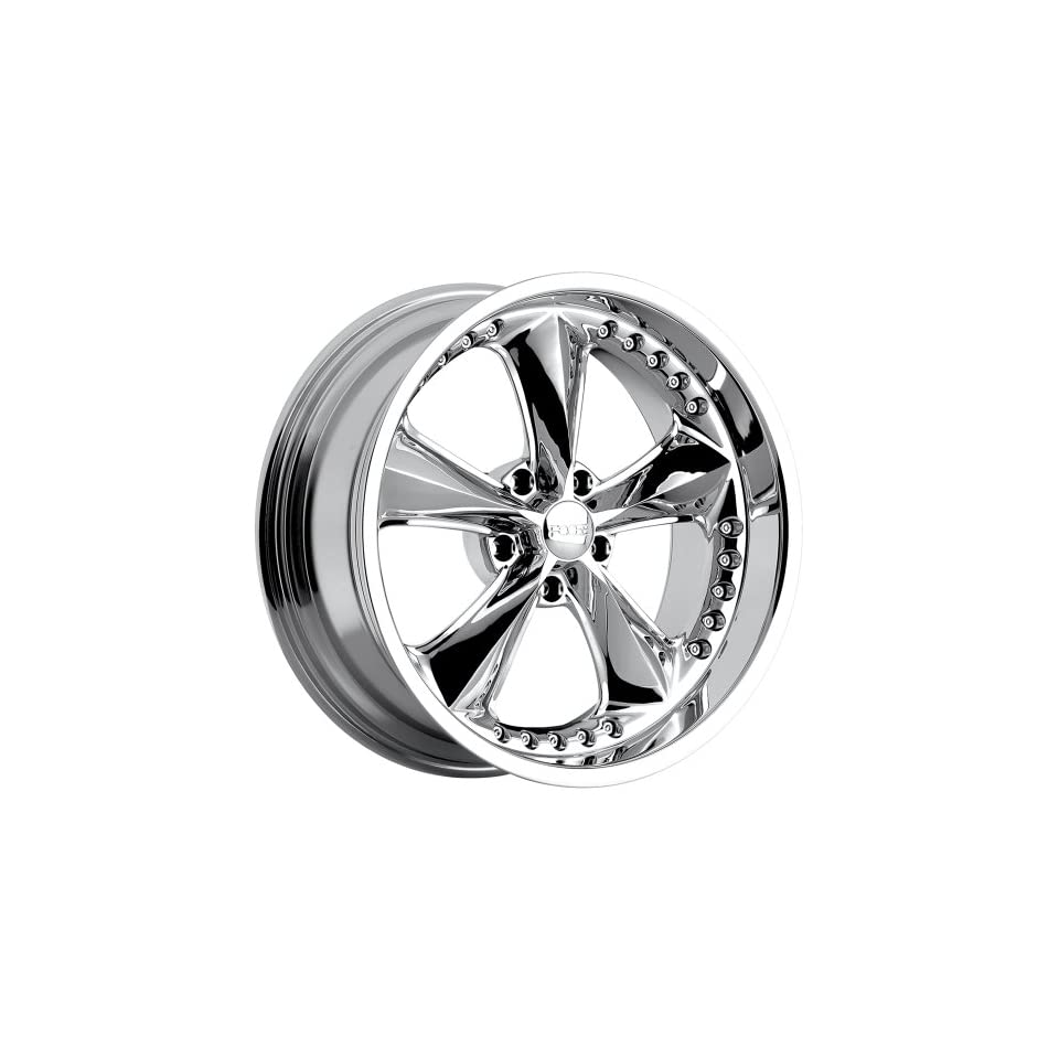 Foose Nitrous 20 Chrome Wheel / Rim 5x4.5 with a 34mm Offset and a 72.60 Hub Bore. Partnumber F11728565
