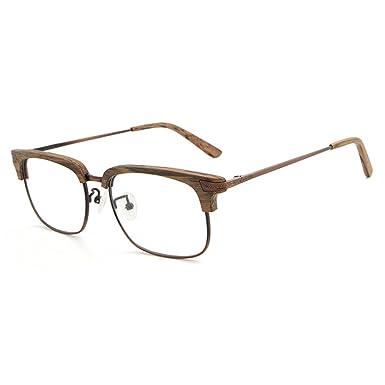 Brillen für Männer Frauen - Klare Linse Brillengestell + Brillen Fall - Juleya # 1228YJJ06 SlG3CsJ7l