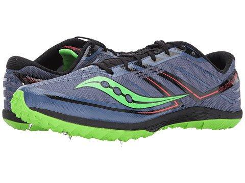(サッカニー) SAUCONY メンズ陸上競技用シューズクロスカントリー靴 Kilkenny XC7 [並行輸入品] B073VH94X9 10.5 (28.5cm) D - M Denim/Slime