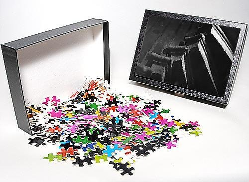 Photo Jigsaw Puzzle Of Spooky Spiral Staircase