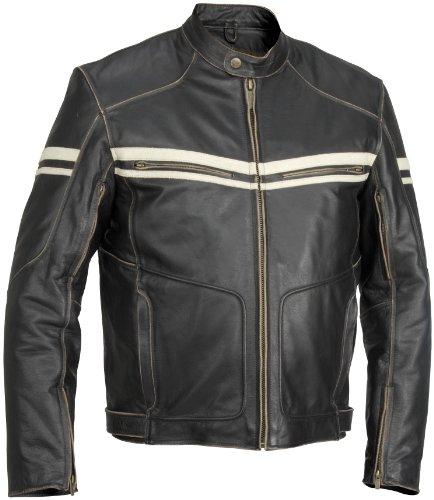 River Road Black Boots (River Road Hoodlum Vintage Leather Jacket -)