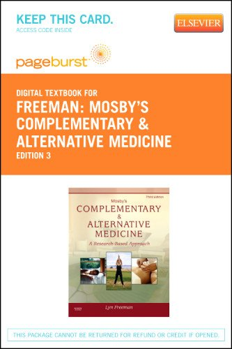 Mosby's Complementary & Alternative Medicine - Elsevier eBook on VitalSource (Retail Access Card), 3e