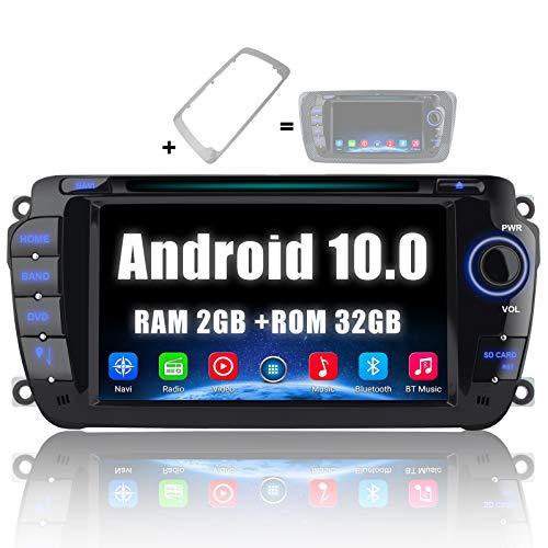 AWESAFE [Android 10.0 2GB+32GB] Radio Coche para Seat Ibiza 2009-2013, Autoradio de 7 Pulgadas con Pantalla Táctil 2 DIN…