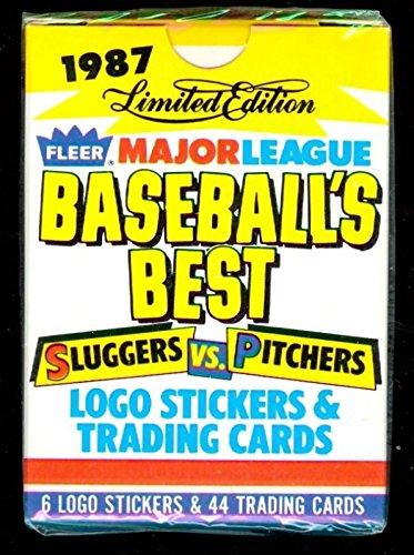 1987 Fleer Sluggers Vs. Pitchers Baseball Best Complete Box Set Baseball's from Fleer