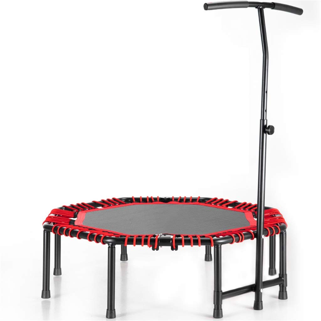 LKFSNGB 48'' - Octagonal Trampoline Professional Fitness Trampoline with Adjustable Handle for Outdoor and Indoor Use, Adult Fitness Equipment by LKFSNGB