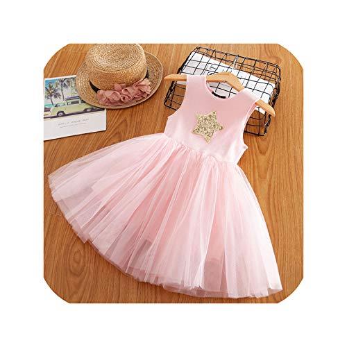 Children Formal Kids Fluffy Cake Smash Dress Girls for Christmas Halloween Birthday,pink1,3T -