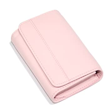 Amazon hde leather business card holder case holds 50 hde leather business card holder case holds 50 business cards with magnetic closure colourmoves