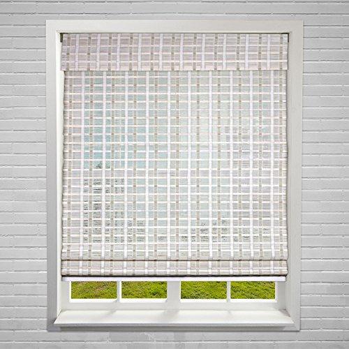 Calyx Interiors A04CBO340600 Cordless Bamboo Blind, 34