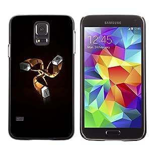 GagaDesign Phone Accessories: Hard Case Cover for Samsung Galaxy S5 - I Love You I heart U