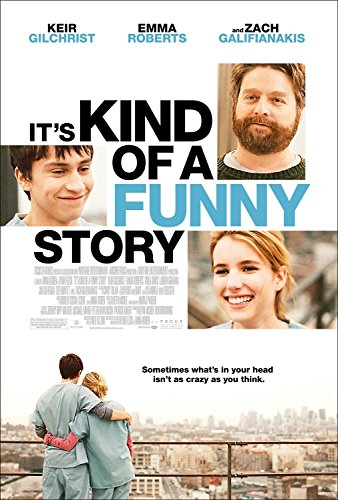 IT'S KIND OF A FUNNY STORY Original Movie Poster 27x40 DS - ZACK GALIFIANAKIS