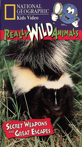 National Geographic's Really Wild Animals: Secret Weapons and Great Escapes [VHS]