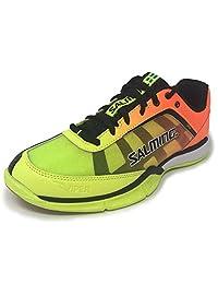 Salming Viper 4 Junior Yellow/Orange Indoor Court Shoes