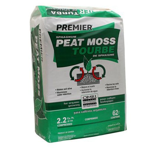 PREMIER HORTICULTURE 0128P 2.2Cu Ft Sphag Peat Moss
