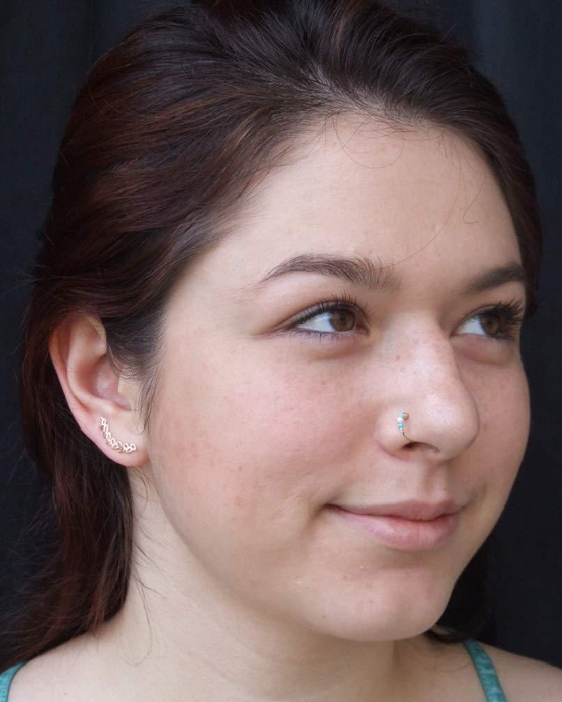 Gold Ear Cuff Earrings Leaf Earrings Gold Handmade Leaf Ear Climber Earrings Wrap Earrings Ear Crawler