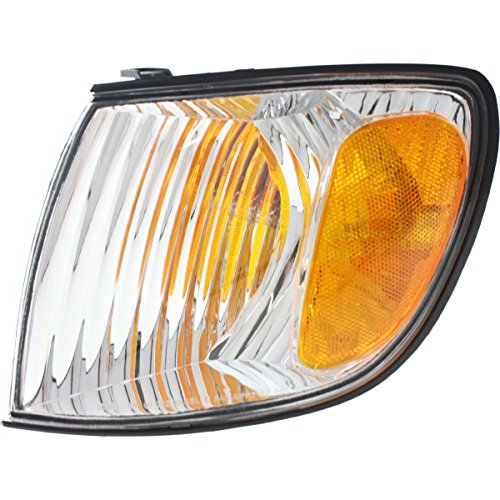 (DAT AUTO PARTS Front Signal Light Assembly Replacement for 01-03 Toyota Sienna Corner of Fender Left Driver Side TO2530138)