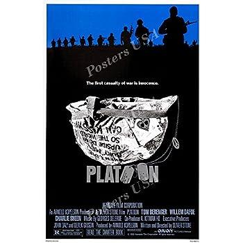Platoon Charlie Sheen Willem Dafoe Kult Vietnam-Krieg Movie Film Herren