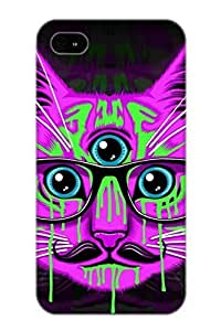 meilinF000EYiJvF-5097-Fimka Animal Cat Awesome High Quality iphone 4/4s Case Skin/perfect Gift For Christmas DaymeilinF000
