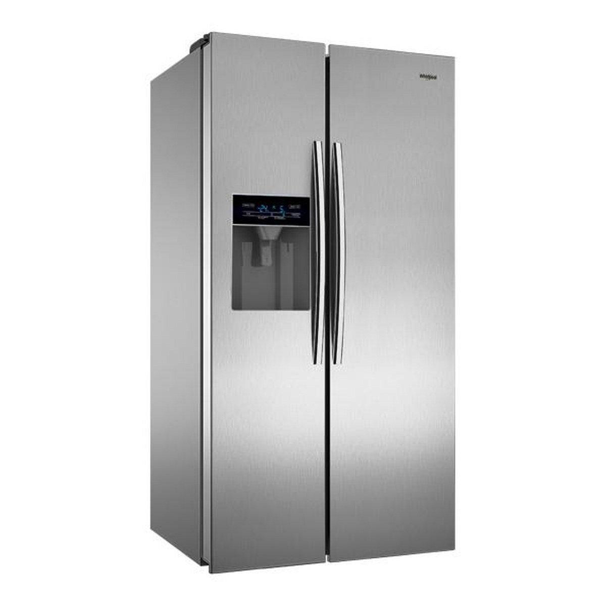 Whirlpool 568 L Frost Free Side-by-Side Refrigerator(SBS 600, Steel):  Amazon.in: Home & Kitchen