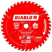 Diablo D0641X 6-1/2 by 40 Finishing Saw Blade 5/8-Inch Arbor