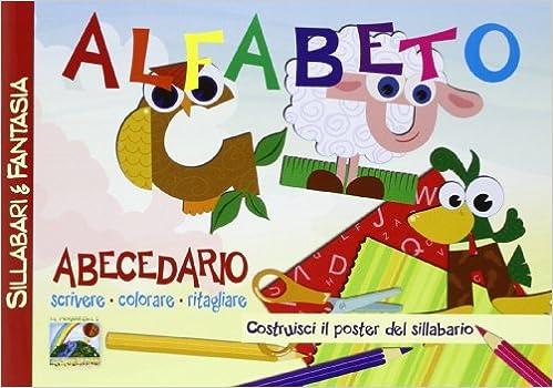 Amazonit Alfabeto Abecedario Scrivere Colorare Ritagliare