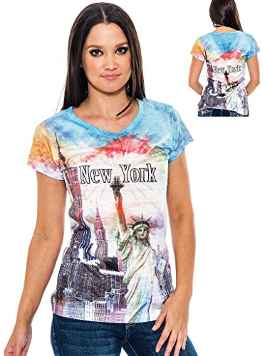 new york graphic tops for women - 4