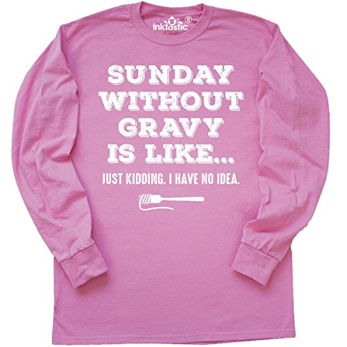 Azalea Gravy - Inktastic - Sunday Without Gravy Long Sleeve T-Shirt Large Azalea