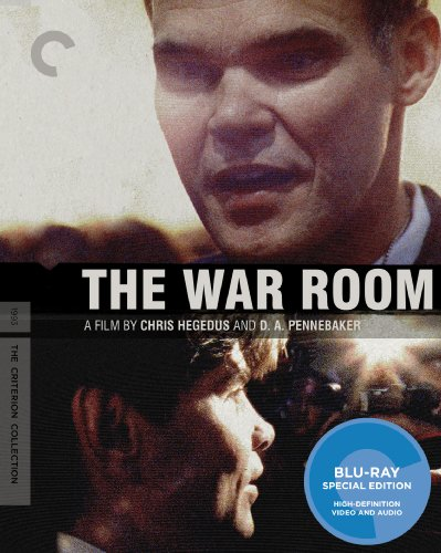 The War Room (The Criterion Collection) [Blu-ray] -  Rated PG, D. A. Pennebaker, James Carville