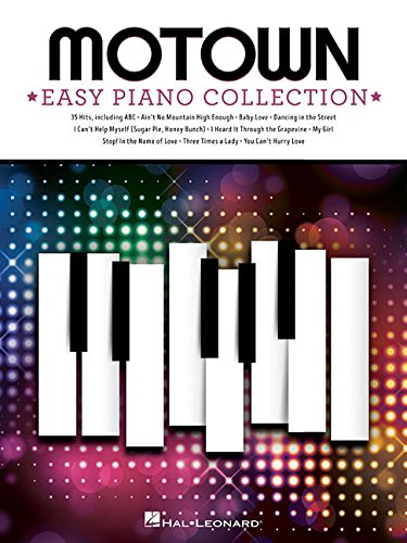 Motown: Easy Piano Collection (Music Sheet Rhythm)