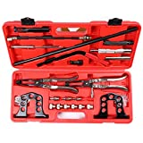SCITOO Pro Cylinder Head Service Set Tool Kit Valve Spring Compressor Removal Installer Fit for 8 16 and 24 Valve Engines