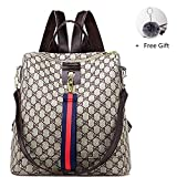 GTESCO Backpack,Designer Fashion Backpacks Purse for Women Teens Girls Medium (M, C)