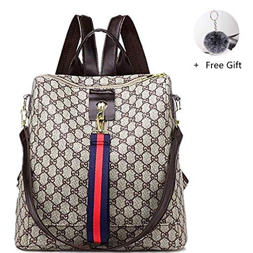 GTESCO Backpack,Designer Fashion Backpacks Purse for Women Teens Girls Medium (M, C) ()