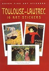 Toulouse-Lautrec (Fine Art Stickers)