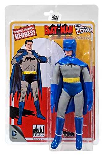 "DC Comics Retro ""First Appearances"" Series 1 Removable Cowl Batman Action Figure"