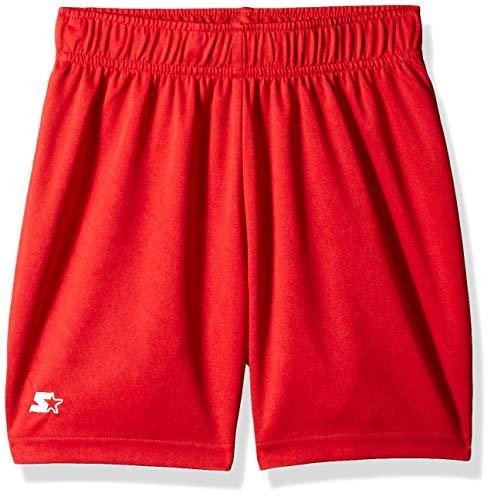(Starter Girls' Knit Soccer Short, Amazon Exclusive, Team Red, M (7/8))