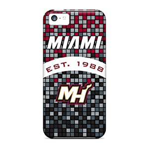 Series Skin Cases Covers For Iphone 5c(miami Heat)